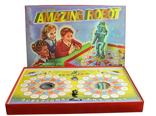 House of Marbles The Magical Amazing Robot - Retro 1950s Board Game