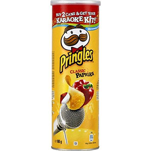 pringles Snack salé au goût paprika - ( Prix Unitaire ) - Envoi Rapide Et Soignée