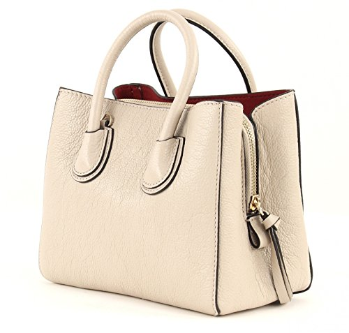 Coccinelle Mini Bag Sac à main cuir 20 cm Seashell / Merlot (Beige)