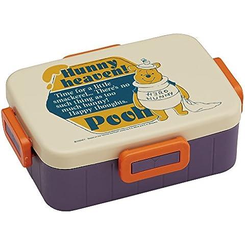 4 puntos de la caja de almuerzo de 650 ml con colección de Winnie the Pooh
