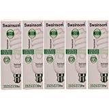 Swainsom ENERGY SAVING LAMP 23/25/27/30 W (Pack Of 5 )
