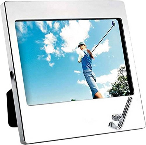 Silver Plated Landscape Golf Photo Frame 5x7 By David Van Hagen