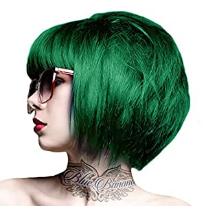 Crazy Colour Emerald Semi-Permanent Hair Dye by Crazy Colour