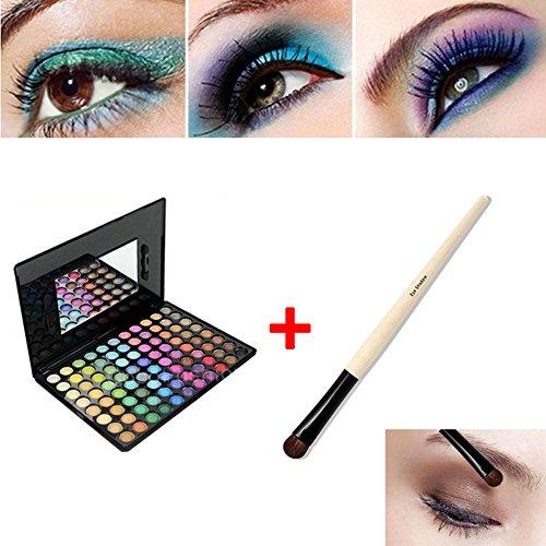 Hrph Kit 88 Couleurs Palette de Maquillage Eyeshadow + Pinceaux de Maquillage Eye Foundation Blending