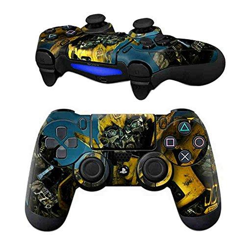 modfreakz Paar Vinyl Controller Skins-Gelb bee für Playstation 4 Hi-definition-digital-video