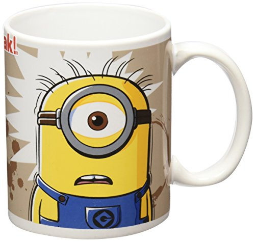 Zak Designs Despicable Me Minion I Need Coffee Mug, 11.5 oz  available at amazon for Rs.1599