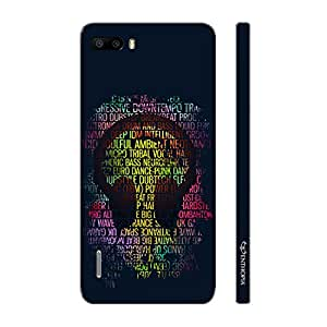 Enthopia Designer Hardshell Case Music MY Life Back Cover for Huawei Honor 6 Plus