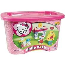 Hello Kitty 73 Piece Tub Building Bricks Large Set