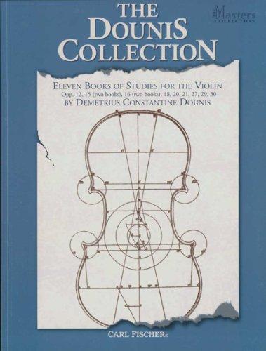 Dounis Collection 11 Bks of Studies Viol