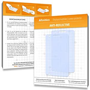 Afinitics Screen Protector for Alcatel One Touch S'POP Dual SIM / POP Small - Premium Quality - Made in Germany