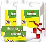 ENVIRA Spray gegen Wespen 2x2Ltr + 2x500ml