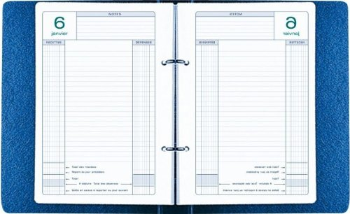 Exacompta - 38978 - Recharge Agenda Perpetual 1 jour par Page