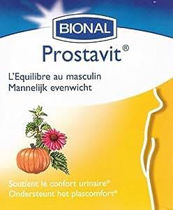 Bional - Prostavit - 80 capsules molles - L'équilibre urinaire des hommes