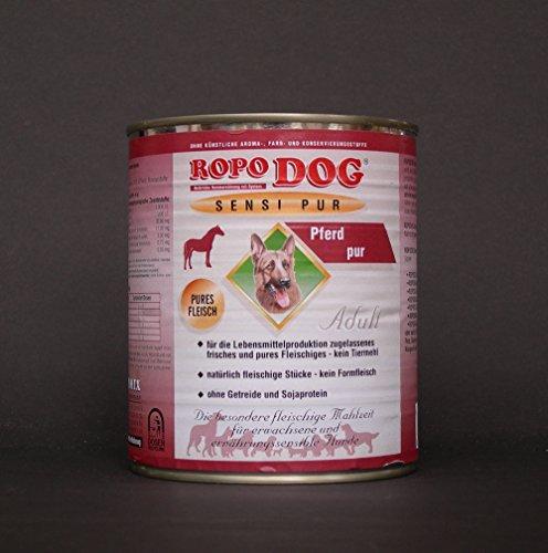 RopoDog 30dosi da 800Gr Adult sensi Pur cavallo-Pures carne