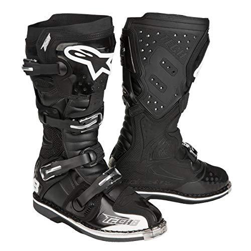 Alpinestars Stivali di Motocross Tech 8Rs Nero, Uomo Donna, Nero