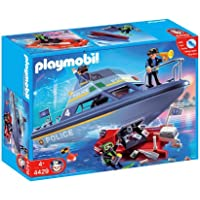 Playmobil Police Boat Playset