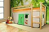 Eternity-Möbel Vorhangset Safari Bettgardine 3-TLG. für Hochbet Spielbett Etagenbett