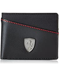 KGN Puma Ferrari Men's Wallet Comfortable For All CROSS BLACK) (Original Products Selling By Only Seller : KGN...