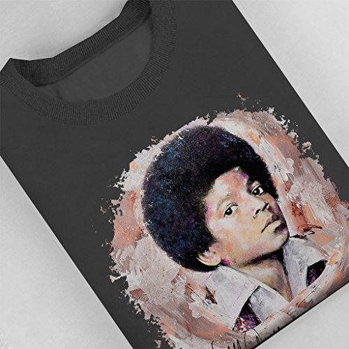 Sidney Maurer Young Michael Jackson Official Women's Sweatshirt Anthracite