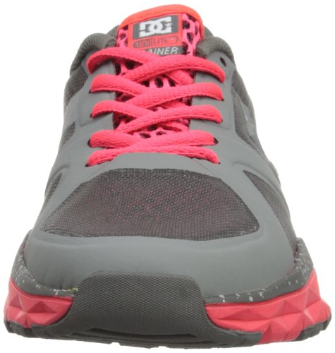 DC Shoes - Scarpe sportive DC Shoes - Schuhe - UNILITE TRAINER - D0320054-01TD - grey, Donna Grey/Red