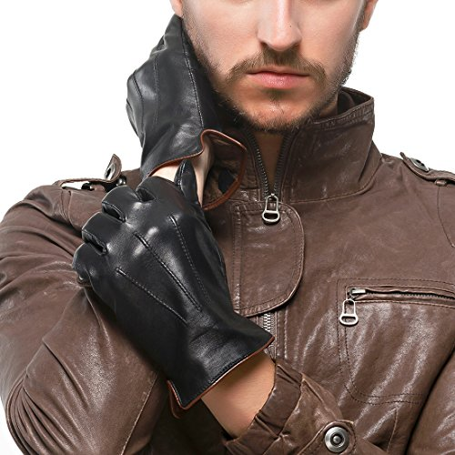 lecran-tactile-nappaglo-les-gants-de-cuir-veritable-hiver-chaud-nappa-conduite-mittens-avec-pur-cach