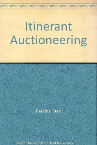 Itinerant Auctioneering