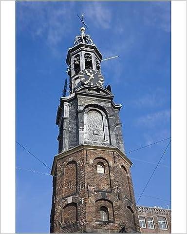 Photographic Print of Munttoren (Mint Tower), Amsterdam, Netherlands, Europe