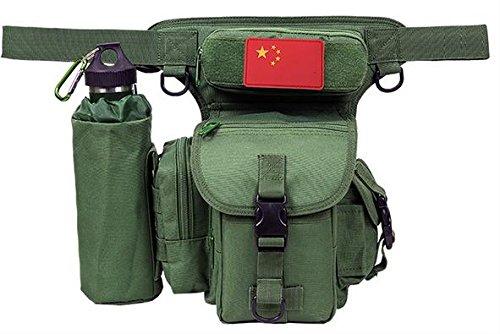 ZLL/ Impermeabile borsa gamba equitazione sport utilità gambe tattico gamba confezioni appassionati militari tasche coscia , lines of desert. Green