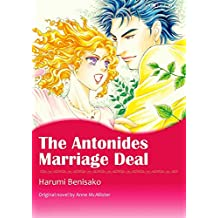 THE ANTONIDES MARRIAGE DEAL (Mills & Boon comics)