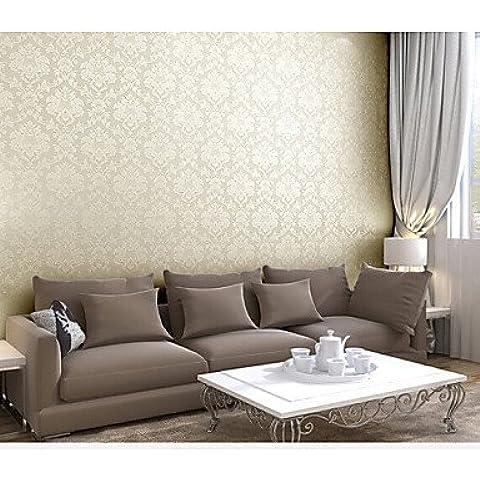 LAPS contemporánea papel tapiz de Damasco 0.53m * pvc cubierta de pared 10m / arte de la pared del vinilo , light
