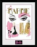 GB Eye Ltd Barbie, Augen Kunstdruck, gerahmt, 30x 40cm, verschiedene