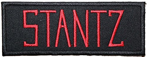 Ghostbusters Namensschild STANTZ Badge bestickt Patch 12,7cm Aufnäher oder zum Aufbügeln