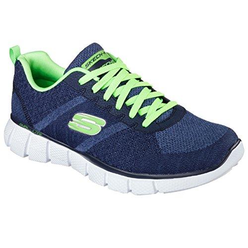 Skechers - True Balance - Scarpe da ginnastica - Uomo (42 EU) (Navy Lime)