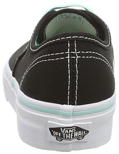 Vans K Authentic Pop, Baskets Basses Mixte Enfant Noir ((pop) Black/b