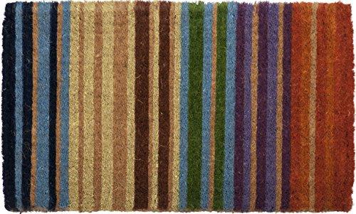 Entryways P834 Fußmatte, Kokosfaser, bunt, 40.0 x 60.0