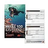 SSI Logbucheinlagen Platinum SSI 100 Dive Log Refills