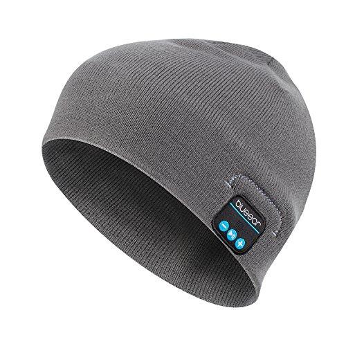 Bluetooth Beanie Mütze BLUEEAR Waschbare Freizeit Bluetooth Baggy Hats Kopfhörer...