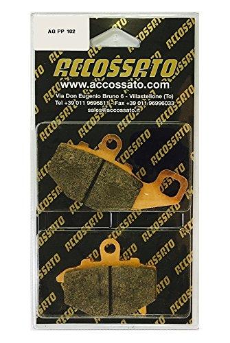 Accossato Pastiglia freno AGPP102ST, KAWASAKI > ER-6N 650 LEFT/REAR, 650 (2006-2012)