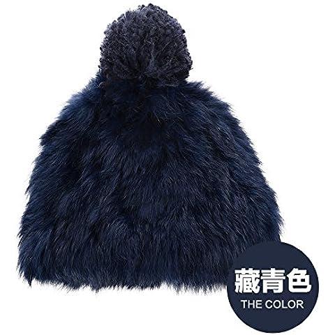 Dngy*Cappelli invernali bambini maglieria marea hat elegante peli di coniglio