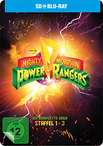 Power Rangers - Mighty Morphin Season 1-3 (Die komplette Serie) (SD on Blu-ray)