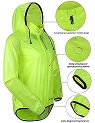 Santic ciclismo bicicleta de montaña ropa transpirable chaqueta impermeable de los hombres de secado rápido resistente al viento abrigo de piel con capucha verde