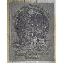um 1920 Waffen Katalog Jagd Jagdwaffen Munition Stukenbrok Einbeck Original