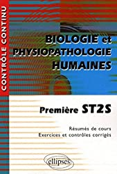 Biologie et physiopathologie humaines 1e ST2S