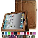 Fintie iPad 2 / 3 / 4 Hülle Case - Slim Fit Folio Schutzhülle Kunstleder Tasche Smart Cover mit Auto Schlaf / Wach Standfunktion für Apple iPad 2 / iPad 3 / iPad 4, Vintage Brown