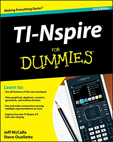TI-Nspire For Dummies (For Dummies Series) (Software Prep Act)