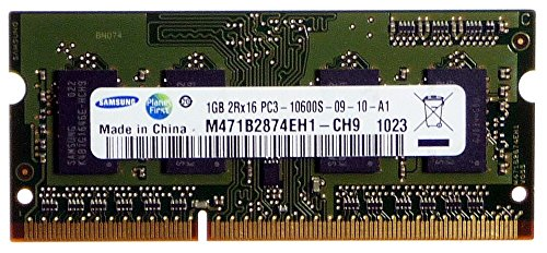 Notebook Ram: 1GB Samsung M471B2874EH1-CH9 PC3-10600S-09-10-A1 ID10863