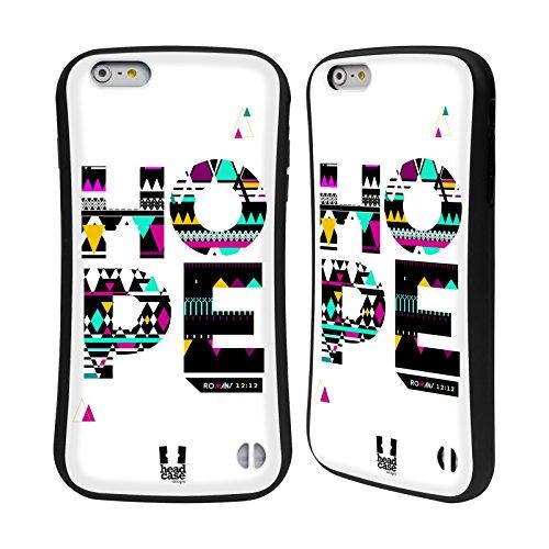 Head Case Designs Espoir Parole De La Bible Aztèque Étui Coque Hybride pour Apple iPhone 6 Plus / 6s Plus