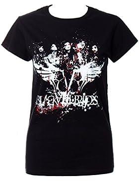 T Shirt Elasticizzata Dei Black Veil Brides Filth (Nero)