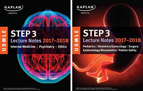 USMLE. Step 3 .Lecture Notes 2017-2018. 2-Book Set (USMLE Prep)