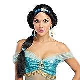 Dreamgirl 10813Harem Prinzessin Perücke, eine Größe